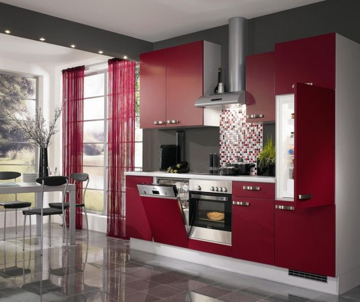 Built In Kitchen Cupboards Designs: Kitchen Small Space Contemporary Kitchen Design Ideas