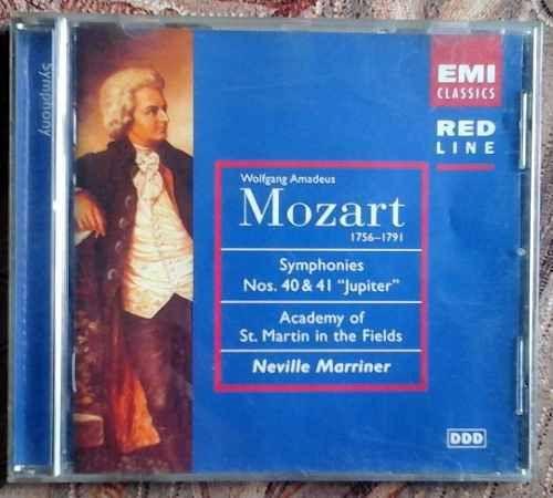 Cd: #Mozart - Sinfonías 40-41 Academy St Martin In The Fields $100