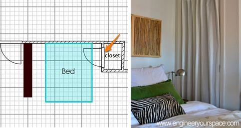 Curtain Closet Doors Small Apartment Furniture Layout Idea Smart Diy Solutions For