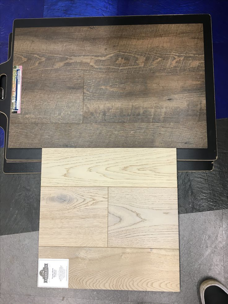 Top - Basement flooring:  Union Planks By Nature's Walk in Athena  (Shown with engineered hardwood for top two floors & stairs)