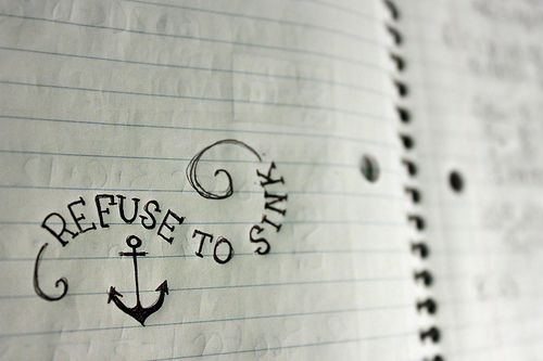refuse to sink! @Amber Born