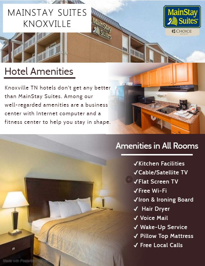 Best Western Knoxville Suites Knoxville This Hotel Is 5 Miles From Downtown Knoxville And Is 6 Miles From The University Of Tennessee The Hotel Off With Images Best Western