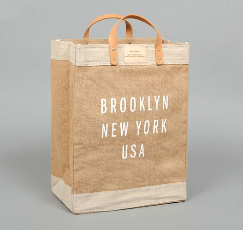 """BROOKLYN"" MARKET BAG, APOLIS + HICKOREE'S :: HICKOREE'S HARD GOODS"