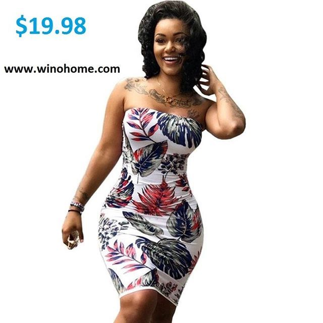 2018 summer  Dress Women Sexy in  www.winohome.com
