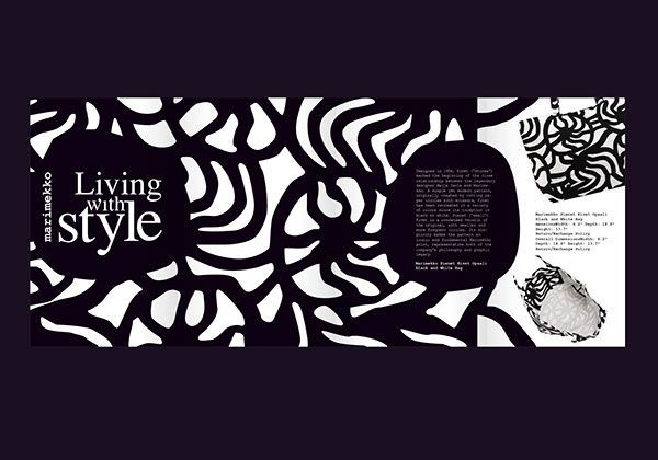 marimekko_Ad by Nancy Skerletidou, via Behance