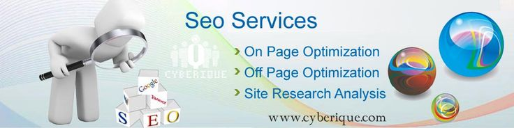 #SEO #Services – #Search Engine Optimization Cyberique is a leading name in providing comprehensive search engine optimization services (SEO). The experienced and professional SEOs employ the best SEO strategies and techniques to promote the websites. See more: http://www.cyberique.com/seo-service.php