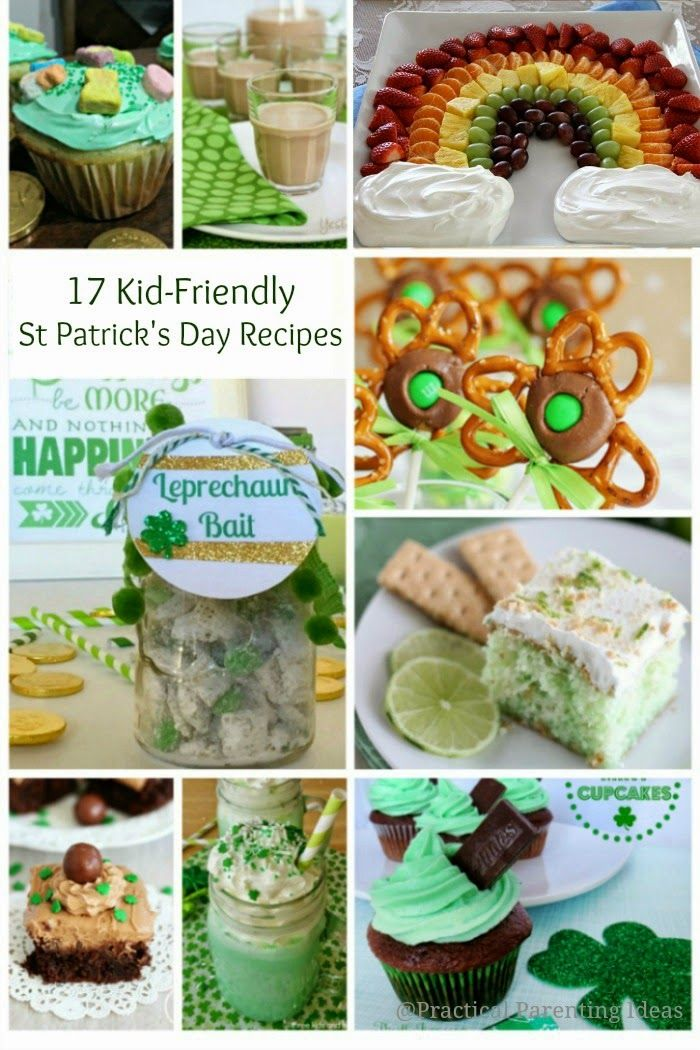 17 Kid-Friendly St. Patrick's Day Recipes that parents will love, too!