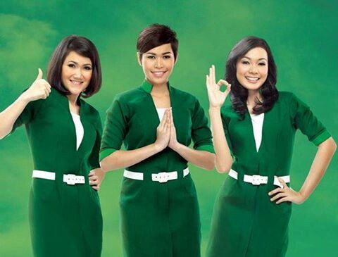 Crew Uniform from Citilink, a low cost airline from Indonesia