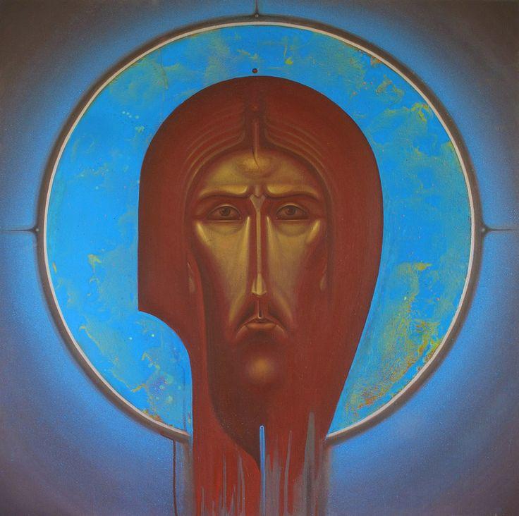 CHRIST IN SPACE, Sergiy Radkevich. 2014