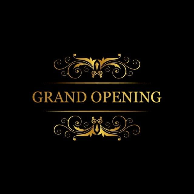 Grand Opening Soon Banner Vector Banner Icons Opening Grand Png And Vector With Transparent Background For Free Download Banner Vector Grand Opening Point Words
