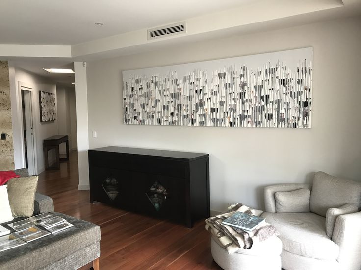 Artwork by Glenn Farquhar 300cm x 80cm created at Art Fusion Studio & Gallery Sydney acrylic on canvas #artfusion #artfusionart #interiordesignart #artideas #interior #design #decorart #artwork #artlessons #artsydney #artstudio #artist #art #customart
