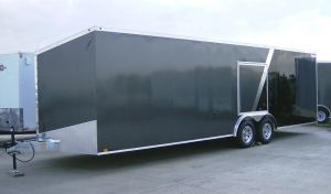 8.5' x 26' Aluminum Car Trailer by Lightning