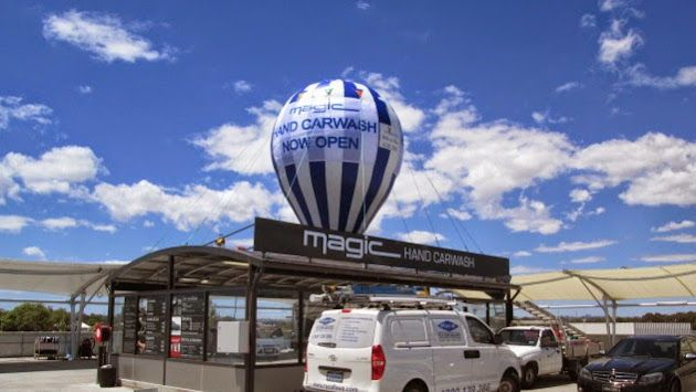 Custom giant rooftop balloons Perth