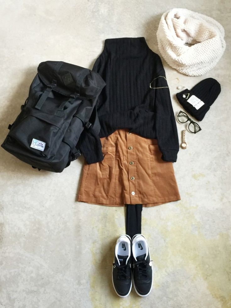WEGOのスカートを使ったナチュラル服のイタフラ さんのコーディネートです。│インスタ→@italietofrance...