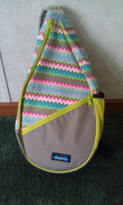 Chevron Kavu Rope Bag