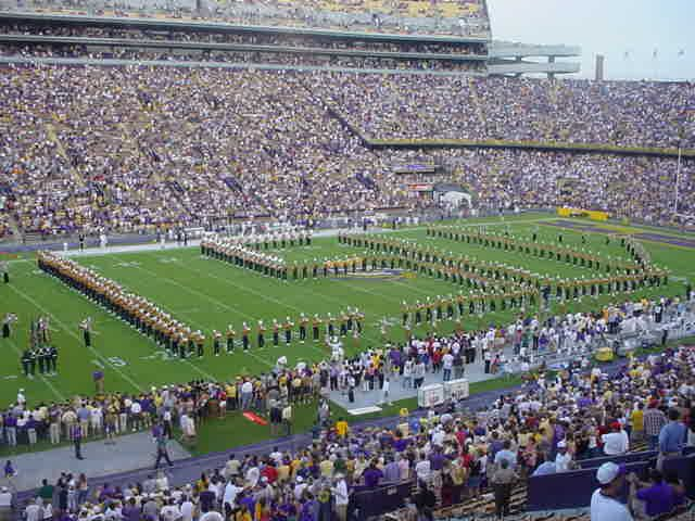 LSU Football Games