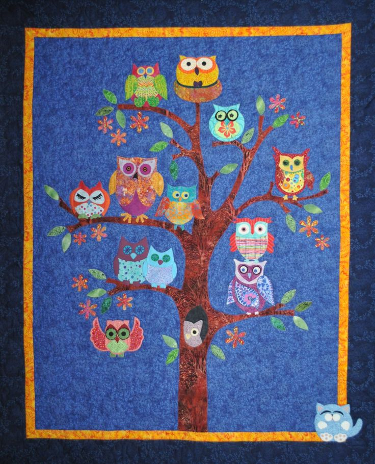 48 best baby quilts images on Pinterest   Baby owl, Baby boy ... : owl quilting patterns - Adamdwight.com