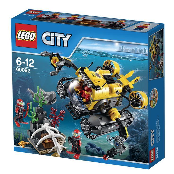 LEGO City 60092 Tiefsee-U-Boot