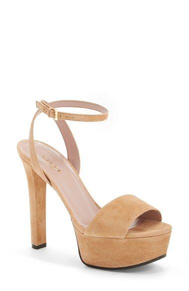 Gucci 'Leila' Ankle Strap Platform Sandal (Women) available at #Nordstrom