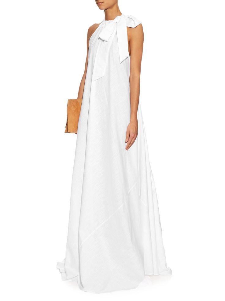 Camille halterneck cotton maxi dress  | Kalita | MATCHESFASHION.COM US