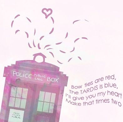 Cute Doctor Who Poem