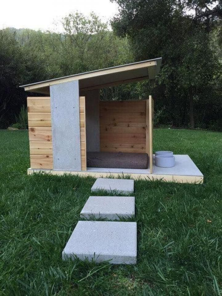 5 Simple Dog Homes For Outdoors And Indoors