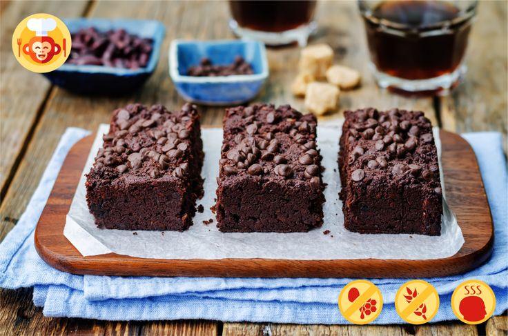 #blackbean #brownie #vegan #glutenfree #diet #foodporn #healthy #yummy #tasty #dessert #foodmonkeys