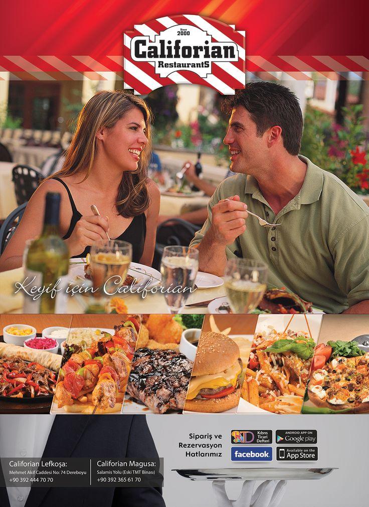 Califorian Restaurants ADV