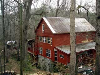 This Historic Grist Mill C 1790 Located In Comer Ga