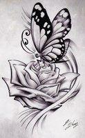 Butterfly Heart by ~KingsArt-1 on deviantART