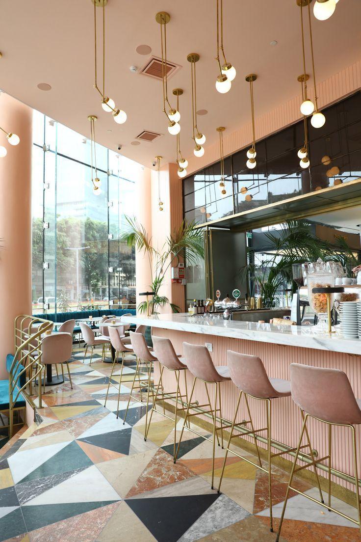Gorgeous Space Love The Floor And Lighting Design Restaurant Interior Design Cafe Interior Design Modern Restaurant