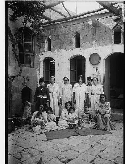 """Poor Jewish family in Aleppo"" (circa 1912) ~ Syria. Description from internet"