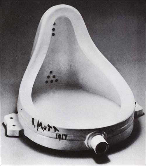 Marcel Duchamp - 'Fountain' 1917