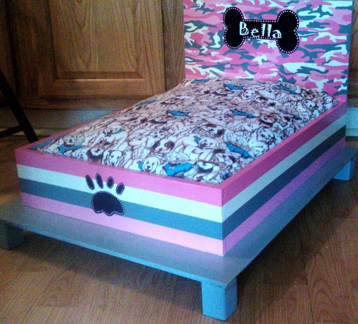 Camo Dog Bed $125