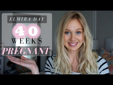 40 Weeks Pregnant | 5 Tips to Help Induce Labour Naturally - YouTube