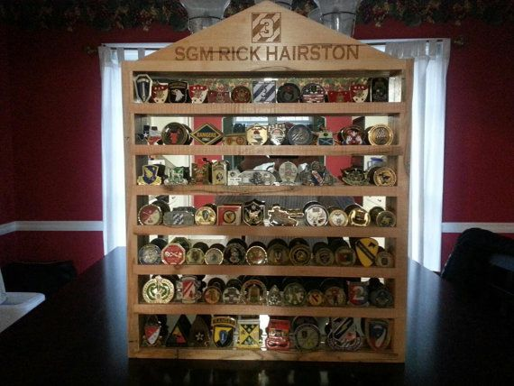 Custom Military Challenge Coin Rack Coin Display Coins