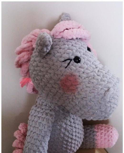Crochet Horse, Pink Horse, Amigurumi Horse, Crochet Toy, Plush Horse, Crochet Animal, Amigurumi Animal, Perfect Gift by tulilala on Etsy