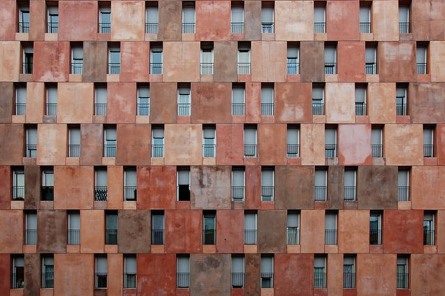 Housing Patterns, via Flickr. Villaverde Social Housing // David Chipperfield Architects [Madrid, Spain]