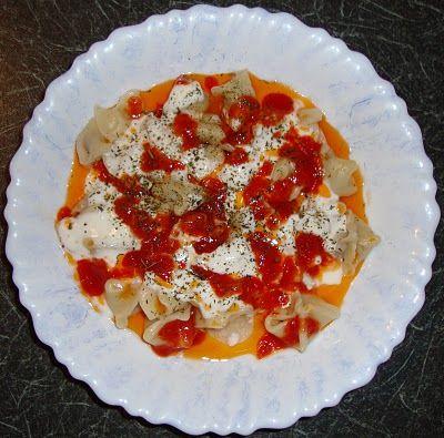 La cuisine de mon pays ... la Turquie: MANTI - Raviolis Turc