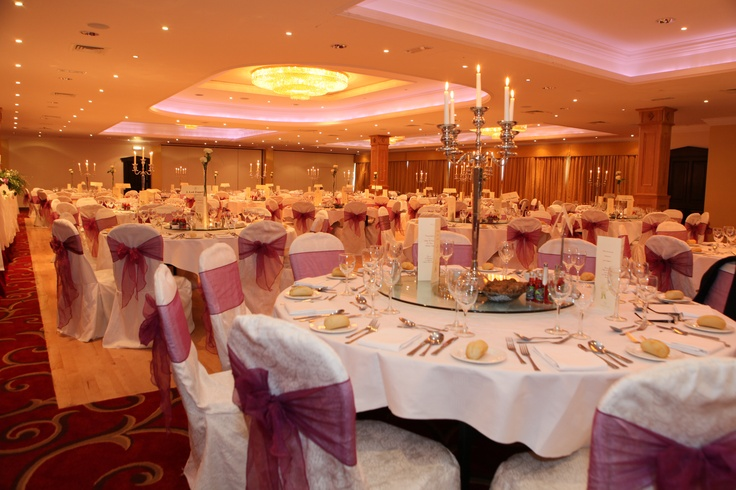 Our function room in a full wedding set up