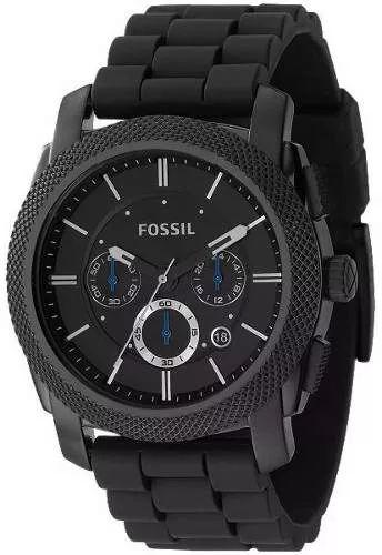 reloj hombre fossil fs4487 - cronografo - nuevos en caja
