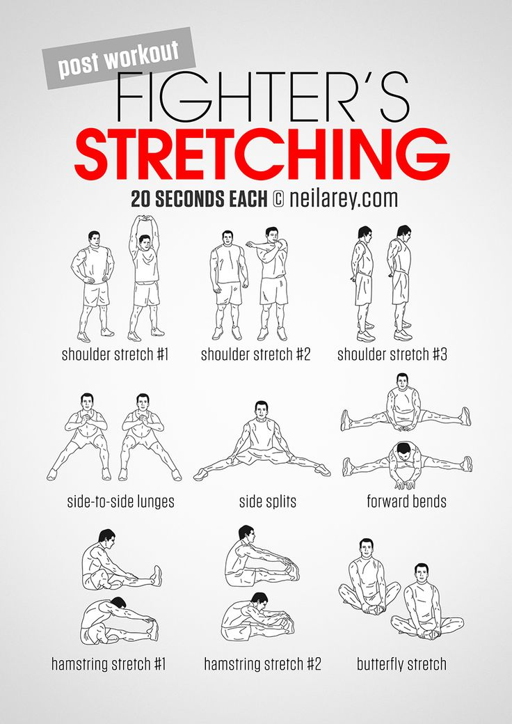 Fighter's Stretching workout