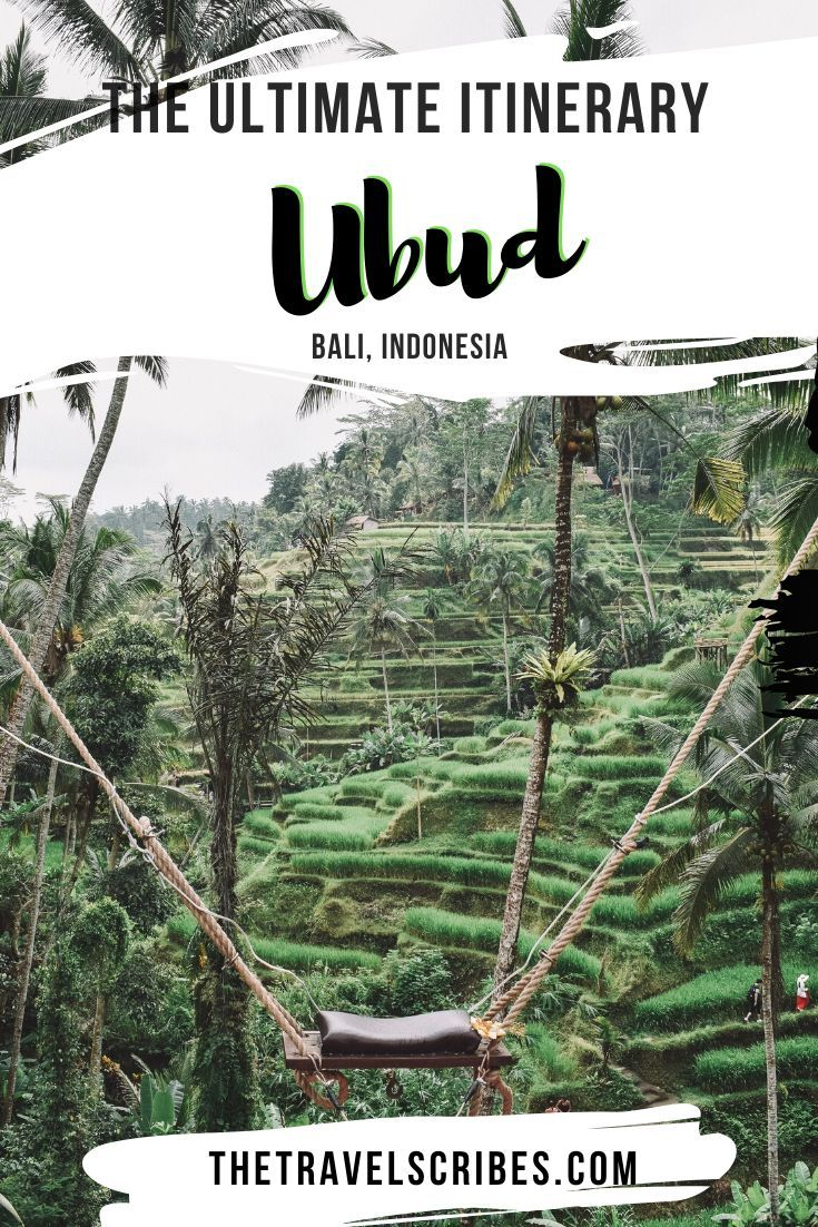 The BEST Ubud 3 day itinerary
