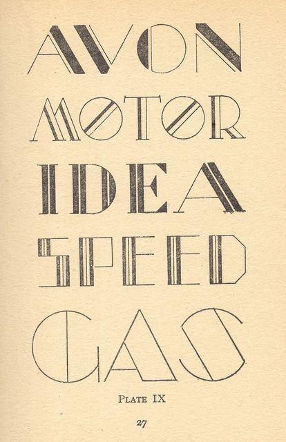 modern letter.