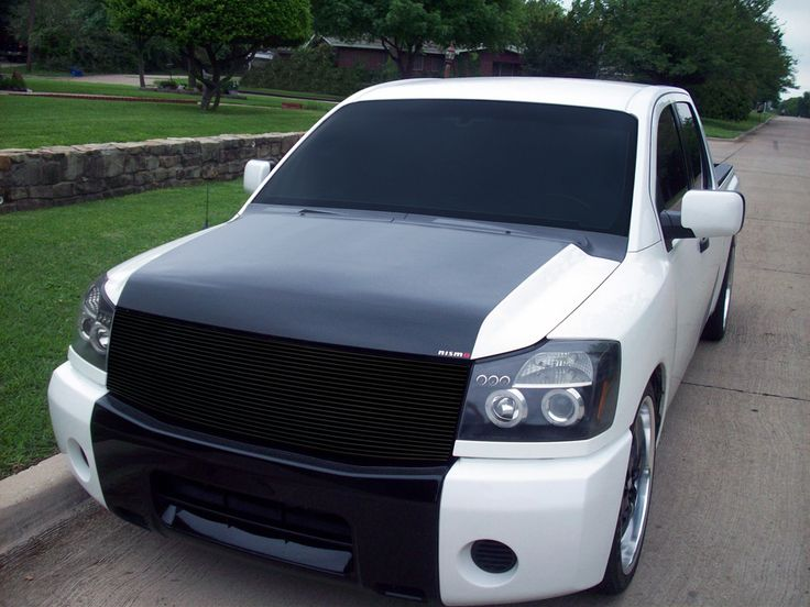 2004-2012 Nissan Titan, Armada (EXCEPT 2008 Armada) - Billet Grille Insert - 1 PC (Replaces Grille Shell) - 22 Bars - All Black