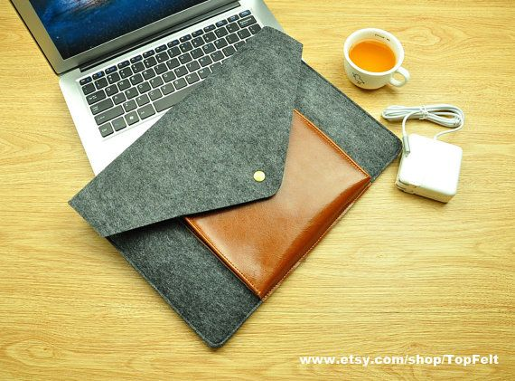 macbook 11 bag macbook Air 11 case macbook sleeve mac by TopFelt