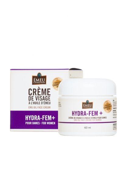 Crème de visage pour dames Hydra-Fem+