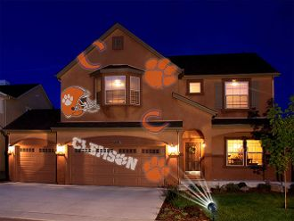 Clemson Tigers Team LED Projector Light. Order From Here >>>>  bjsportstore.com