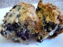 Healthy Blueberry Coffee Cake (made with nonfat yogurt, applesauce, and egg whites). Best of both worlds and allowed on the Ornish Diet! http://www.perfectportions.com/
