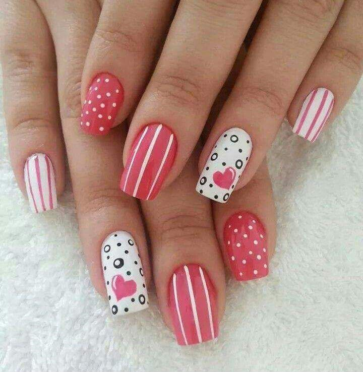 Best 25 nail art video download ideas on pinterest diy nails 45 brilliant valentines day nail art ideas for the artistic women prinsesfo Gallery
